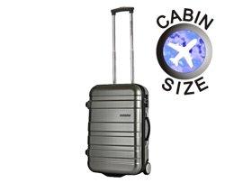 Mała walizka AMERICAN TOURISTER 76A*002 srebrna