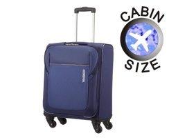 Mała walizka AMERICAN TOURISTER 84A*002 granatowa