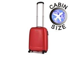 Mała walizka PUCCINI ABS01 C czerwona
