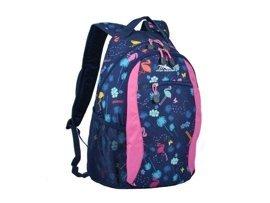 Plecak HIGH SIERRA X40*003 granatowo-różowy z wzorem